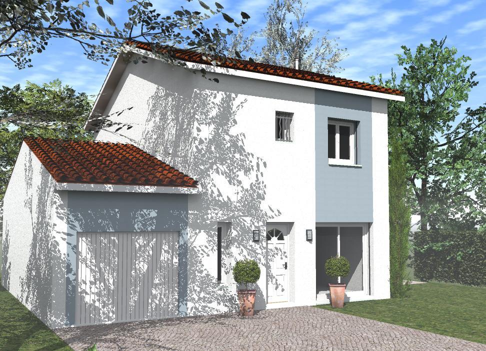 Maisons du constructeur TRADICONFORT BOURGOIN • 99 m² • BEAUREPAIRE