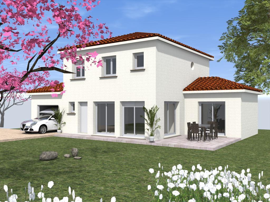 Maisons du constructeur TRADICONFORT BOURGOIN • 121 m² • LE PASSAGE