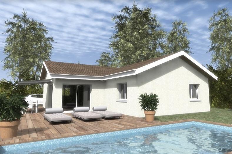 Maisons du constructeur TRADICONFORT BOURGOIN • 101 m² • SAINT JEAN DE BOURNAY