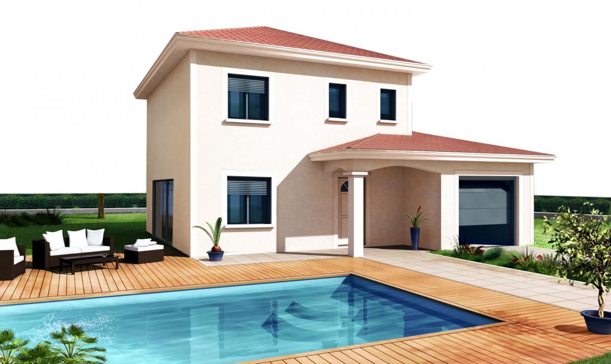 Maisons du constructeur TRADICONFORT BOURGOIN • 101 m² • SAINT DIDIER DE LA TOUR