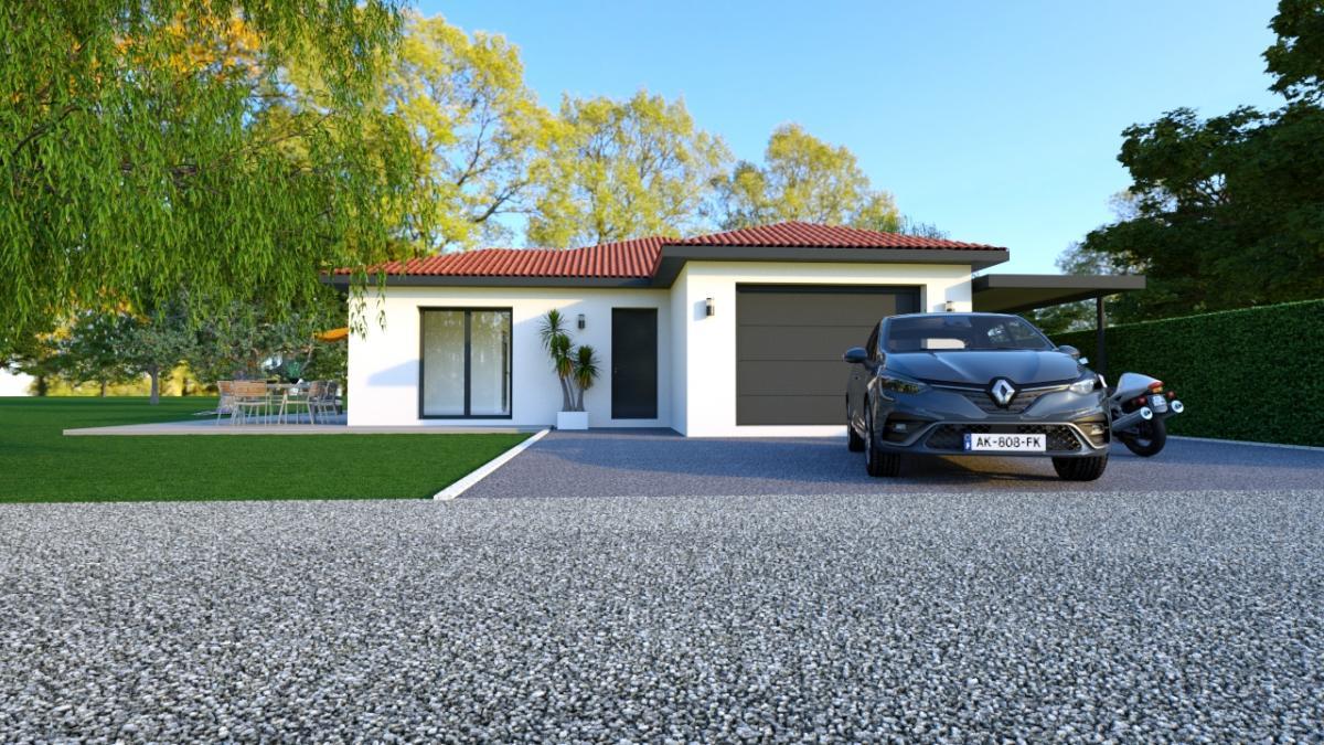 Maisons du constructeur TRADICONFORT BOURGOIN • 100 m² • DIEMOZ