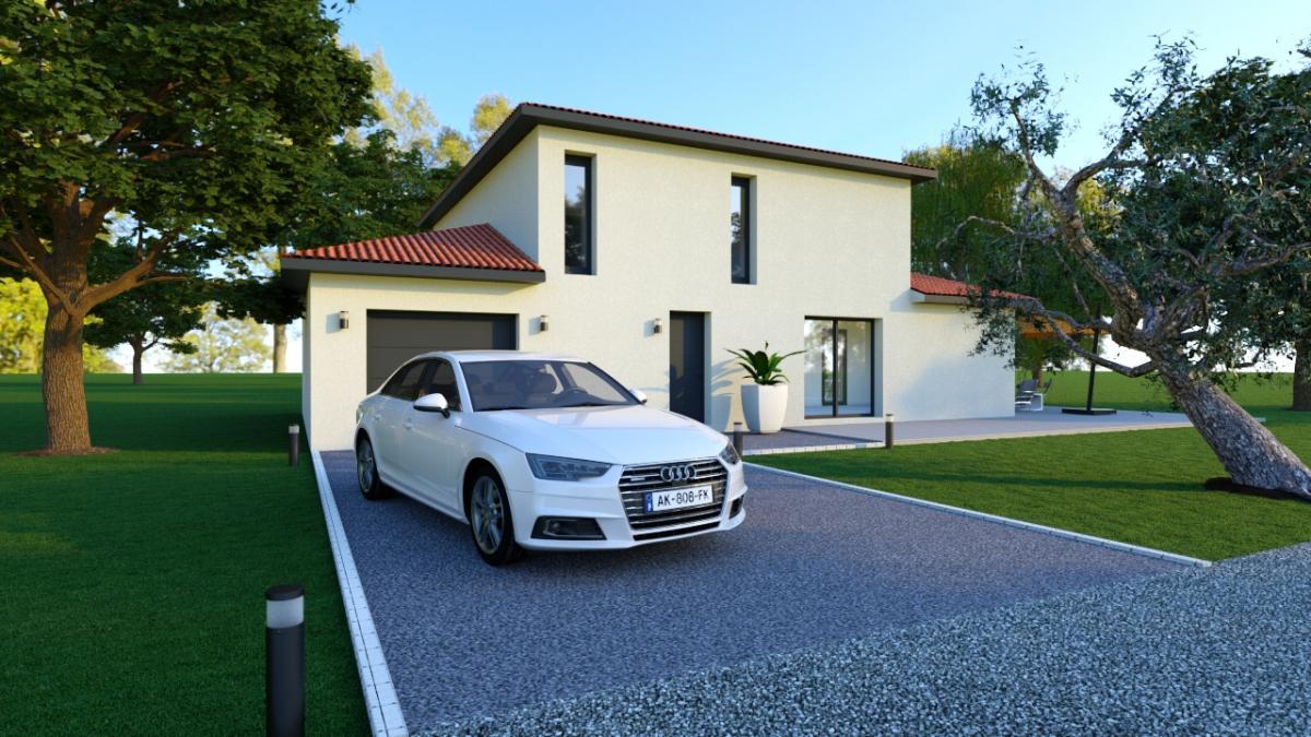 Maisons du constructeur TRADICONFORT BOURGOIN • 105 m² • LA VERPILLIERE