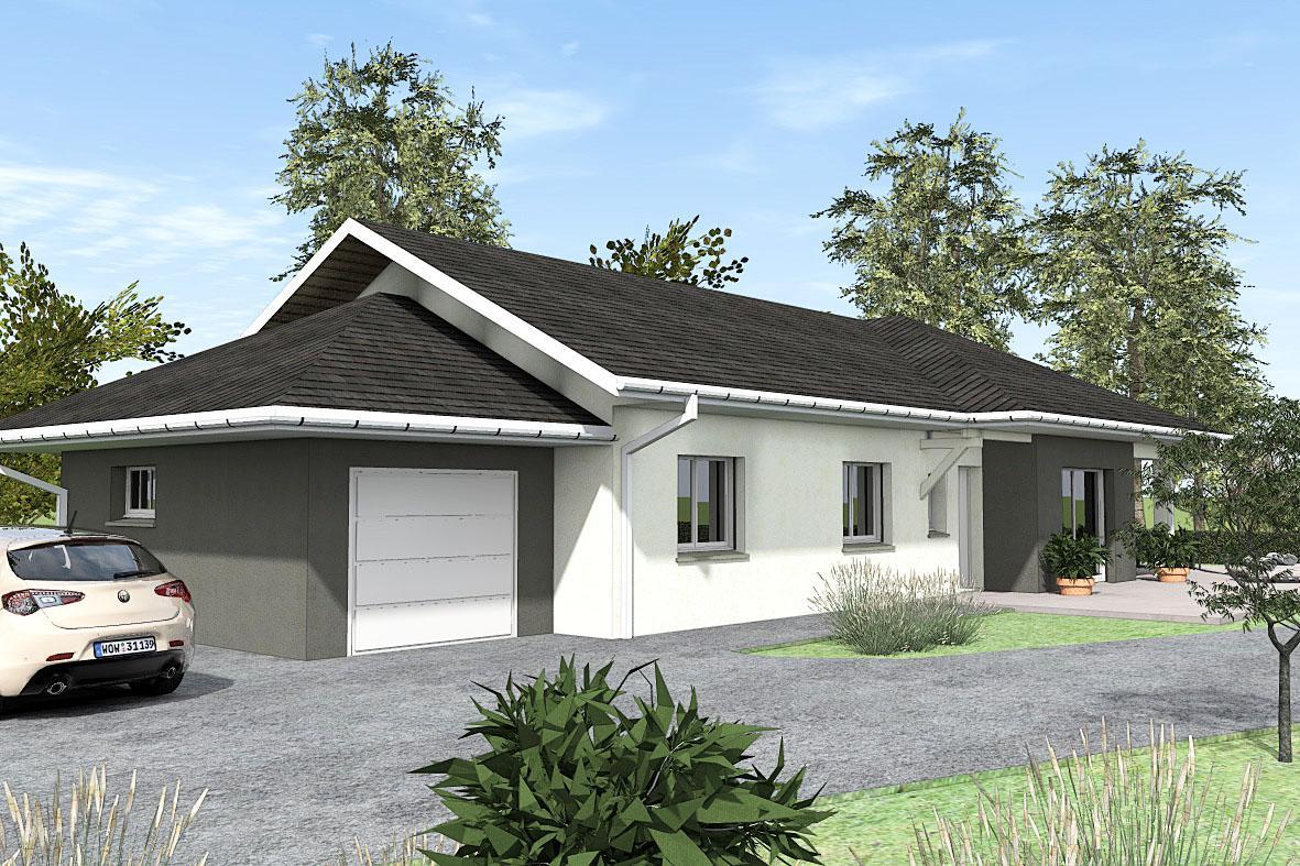 Maisons du constructeur TRADICONFORT BOURGOIN • 89 m² • VIENNE