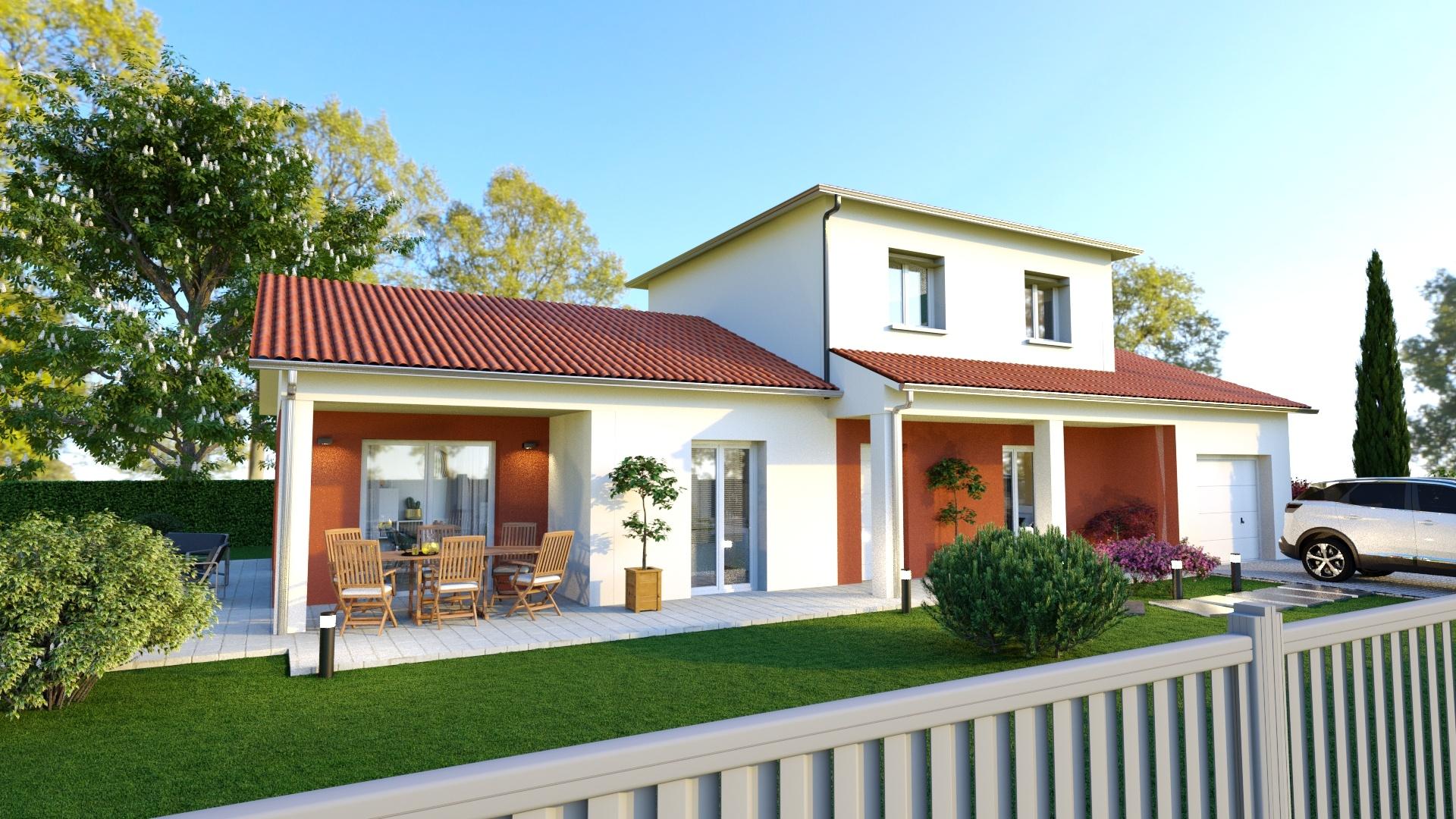 Maisons + Terrains du constructeur MAISONS D EN FRANCE - MONISTROL SUR LOIRE • 120 m² • RETOURNAC
