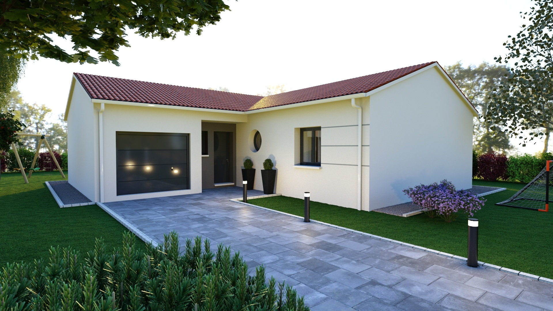 Maisons + Terrains du constructeur MAISONS D EN FRANCE - MONISTROL SUR LOIRE • 90 m² • LAVOUTE SUR LOIRE