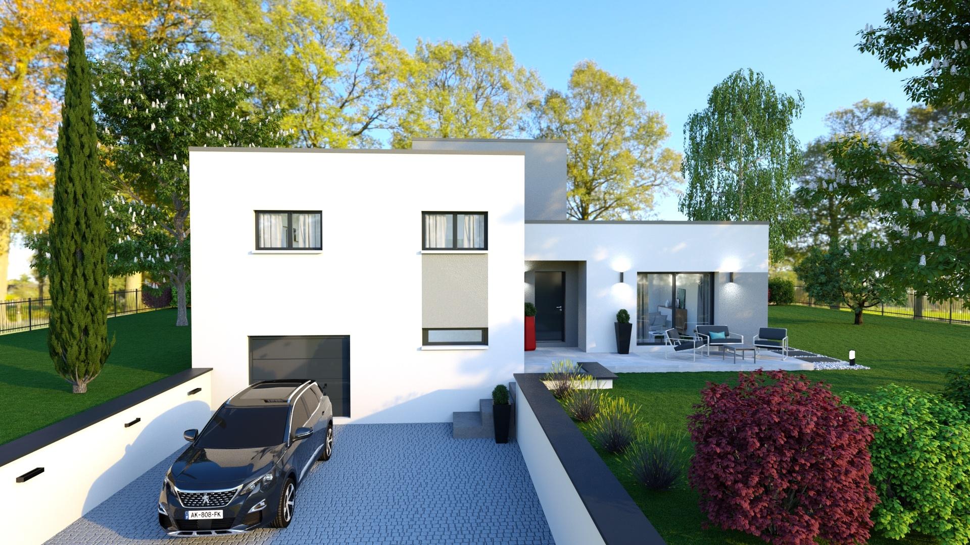Maisons + Terrains du constructeur MAISONS D EN FRANCE - MONISTROL SUR LOIRE • 120 m² • LES VILLETTES