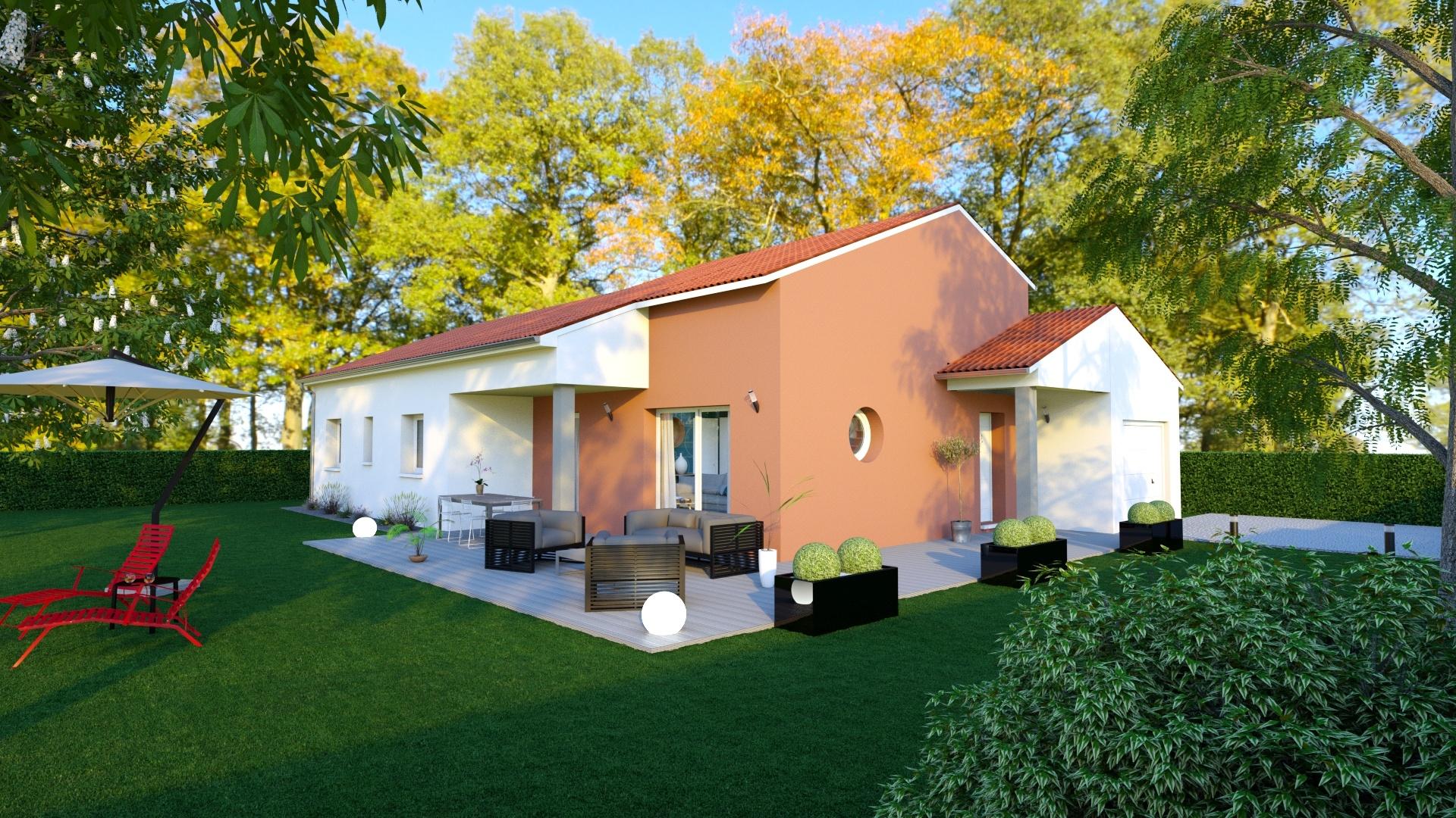 Maisons + Terrains du constructeur MAISONS D EN FRANCE - MONISTROL SUR LOIRE • 120 m² • SAINT PAL DE MONS
