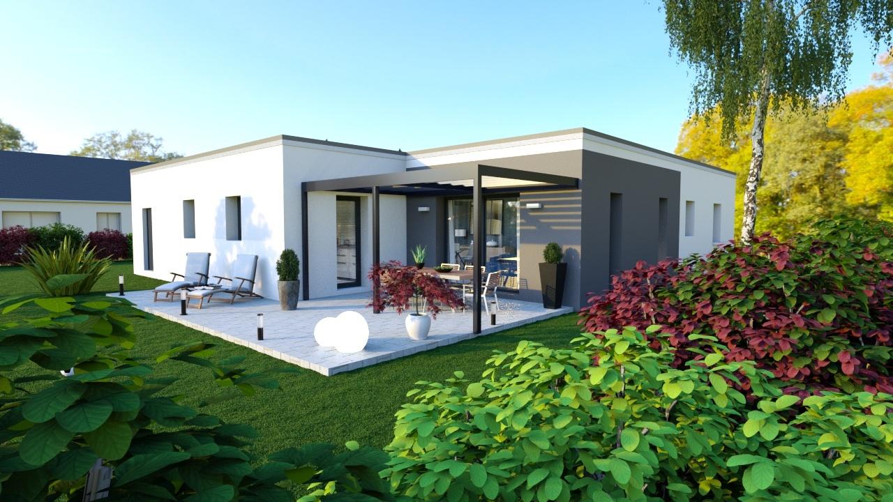Maisons + Terrains du constructeur MAISONS D EN FRANCE - MONISTROL SUR LOIRE • 100 m² • YSSINGEAUX