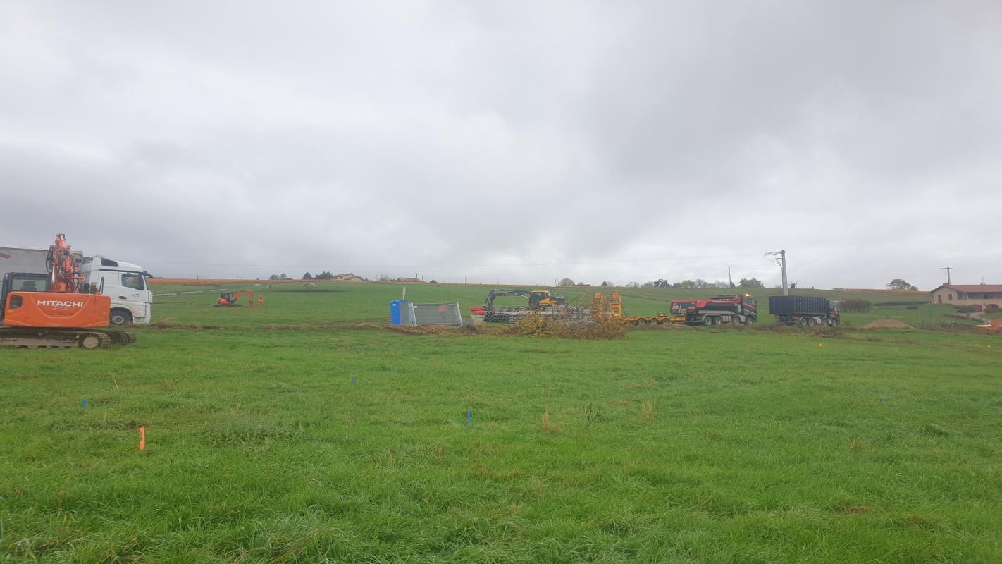 Terrains du constructeur CREDIT MUTUEL AMENAGEMENT FONCIER LYON • 413 m² • SAINT VERAND