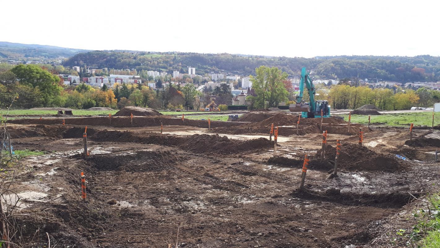 Terrains du constructeur CREDIT MUTUEL AMENAGEMENT FONCIER LYON • 412 m² • BOURGOIN JALLIEU