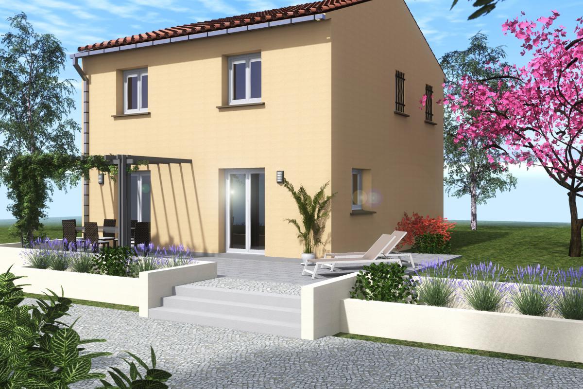 Maisons du constructeur COTRIN 69 • 101 m² • AMBERIEUX EN DOMBES