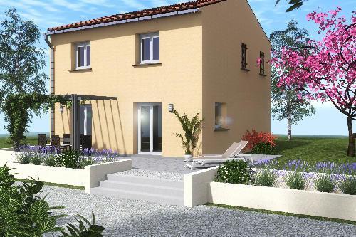 Maisons du constructeur COTRIN 69 • 91 m² • BELLEVILLE