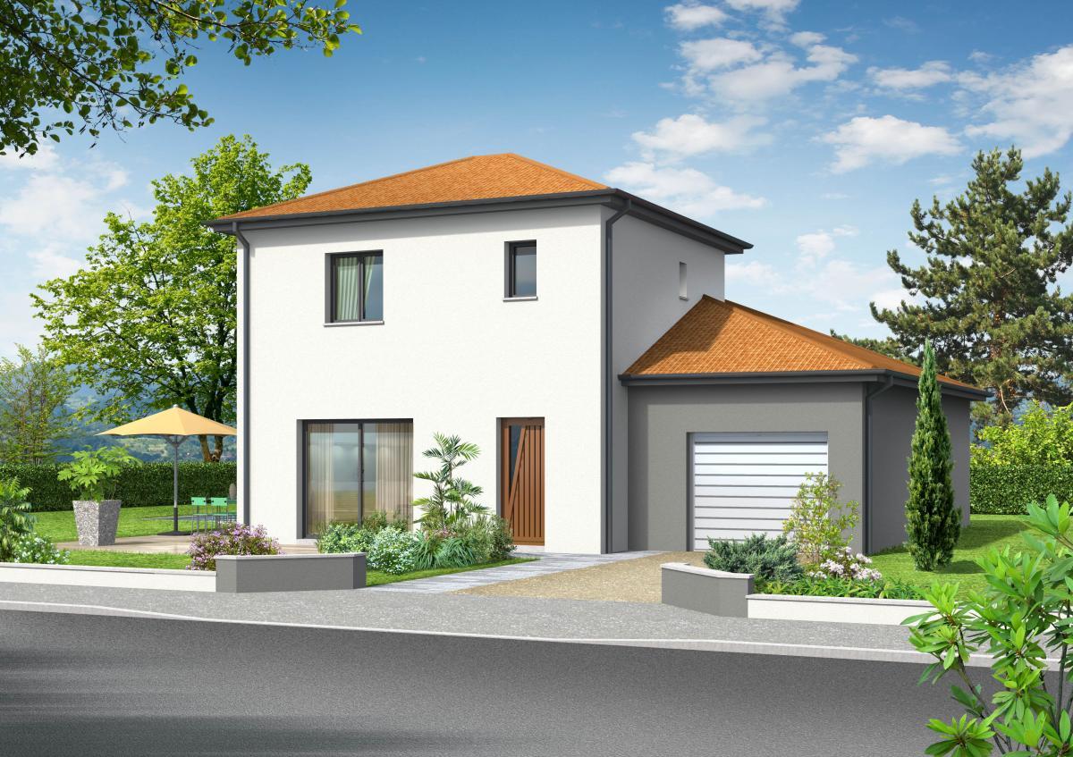 Maisons du constructeur COTRIN 69 • 90 m² • VAULX EN VELIN