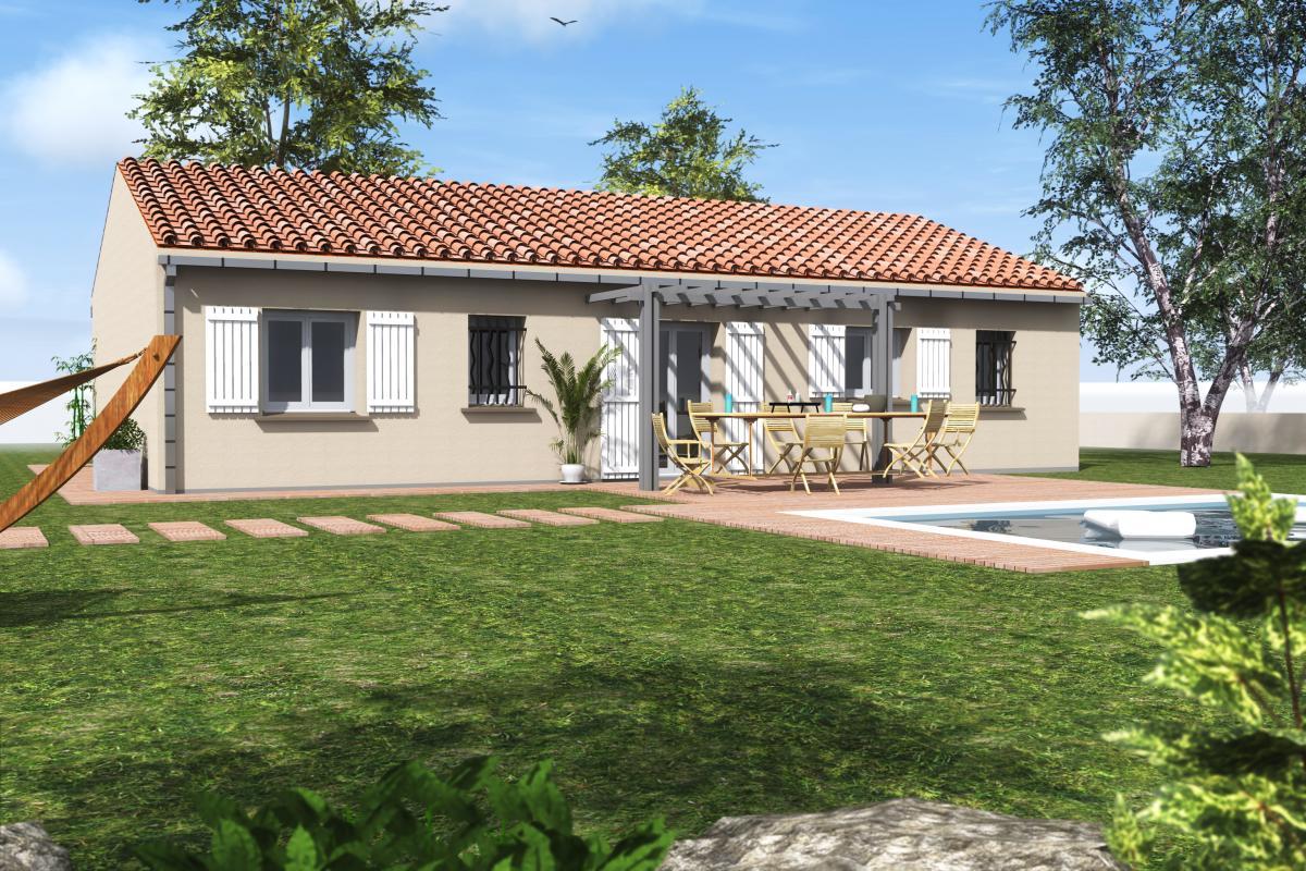 Maisons du constructeur COTRIN 69 • 91 m² • FRONTENAS