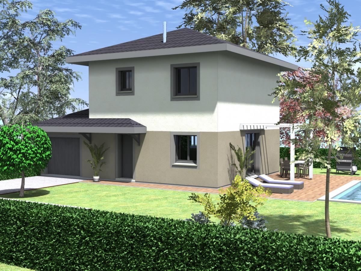 Maisons du constructeur COTRIN 69 • 90 m² • THIL