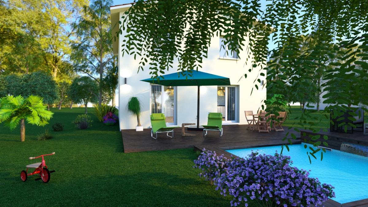Maisons du constructeur COTRIN 69 • 90 m² • FAREINS