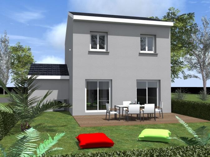 Maisons du constructeur COTRIN 69 • 87 m² • VAULX EN VELIN