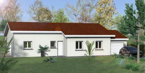 Maisons du constructeur COTRIN 69 • 95 m² • MEXIMIEUX