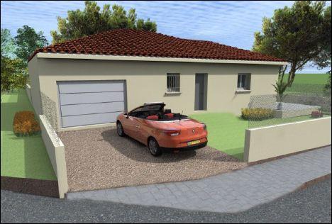 Maisons du constructeur COTRIN 69 • 91 m² • LAMURE SUR AZERGUES