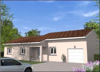 Maisons du constructeur COTRIN 69 • 91 m² • CHALEINS