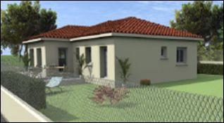 Maisons du constructeur COTRIN 69 • 101 m² • BELLEVILLE
