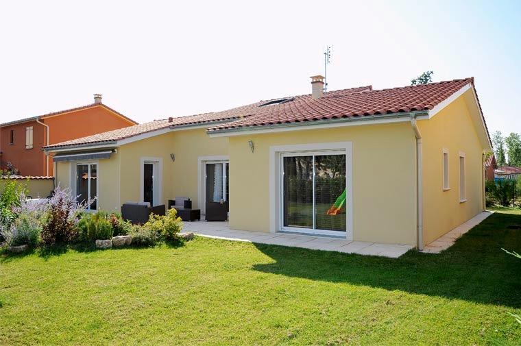 Maisons du constructeur COTRIN 69 • 110 m² • MIRIBEL