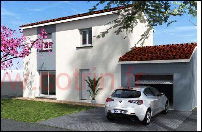 Maisons du constructeur COTRIN 69 • 101 m² • SAINT DIDIER SUR CHALARONNE
