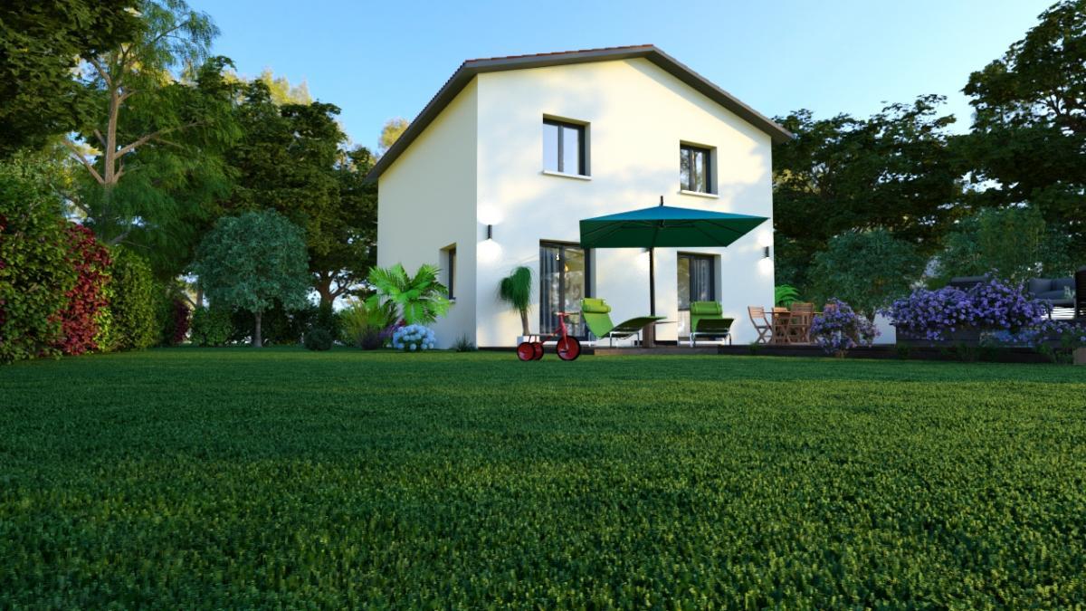 Maisons du constructeur COTRIN 69 • 91 m² • SOUCIEU EN JARREST