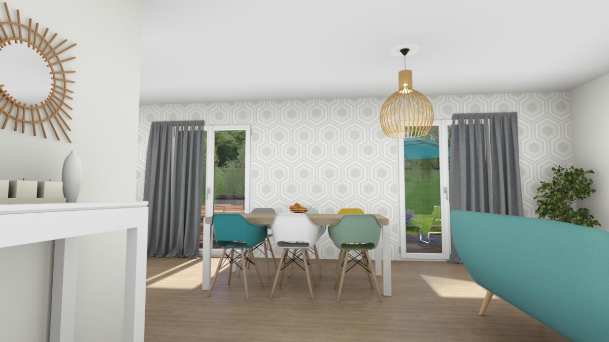 Maisons du constructeur COTRIN 69 • 101 m² • LAGNIEU