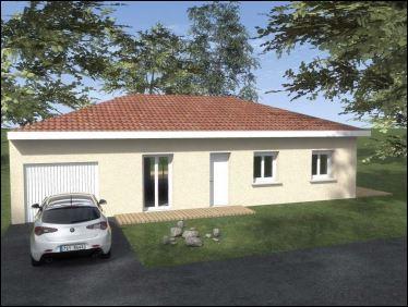 Maisons du constructeur COTRIN 69 • 91 m² • DRACE