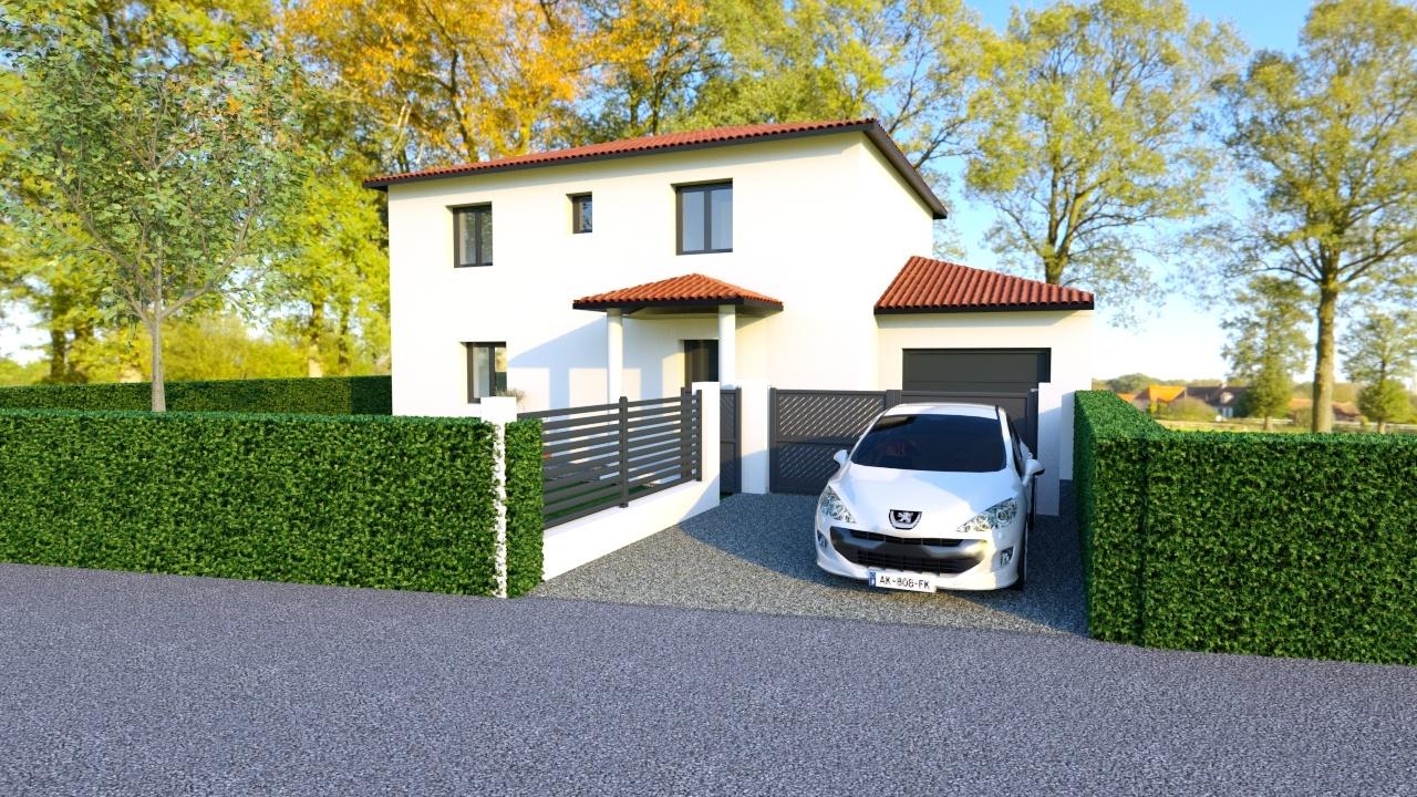 Maisons + Terrains du constructeur MAISONS PUNCH • 111 m² • LES OLMES