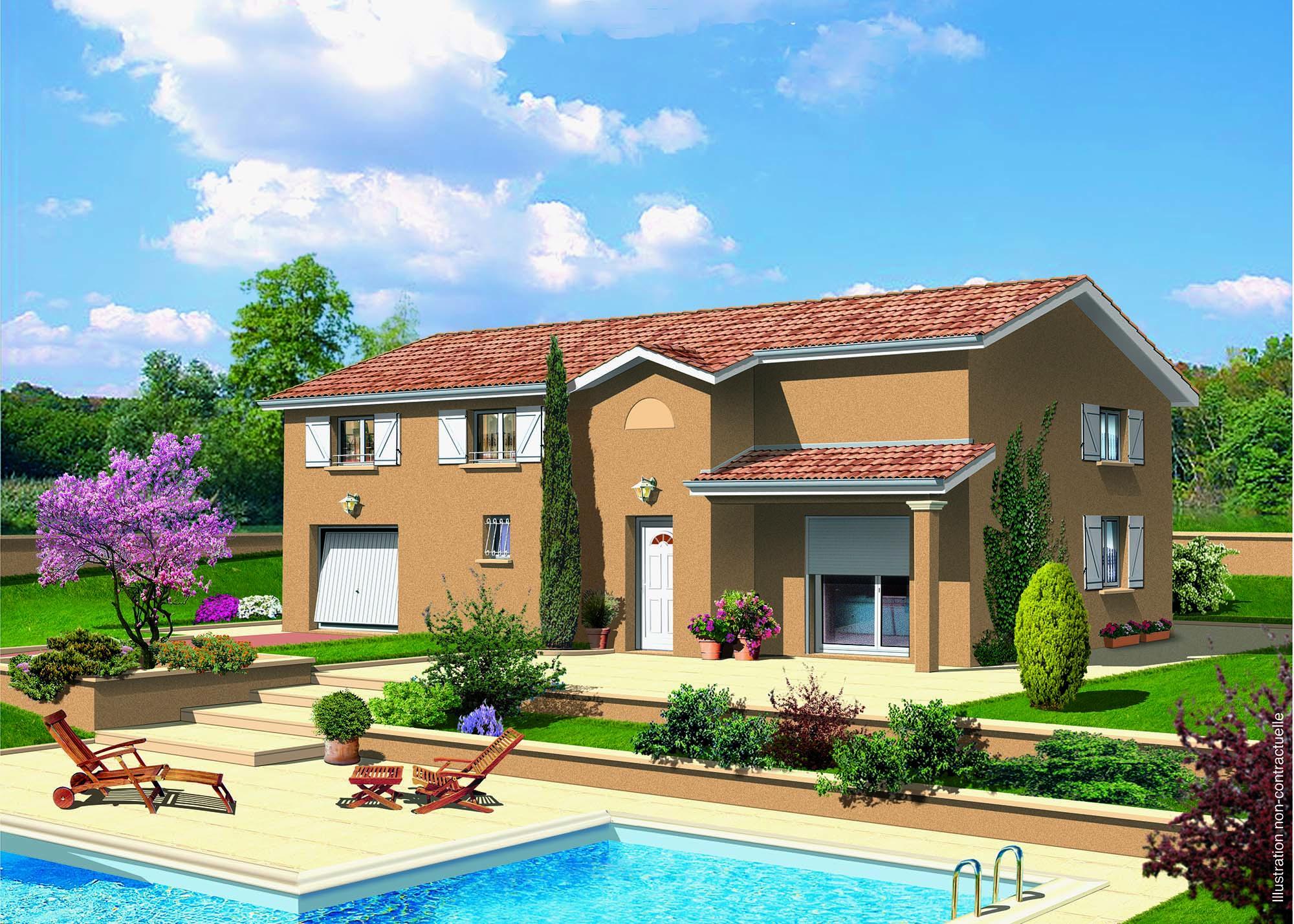 Maisons + Terrains du constructeur MAISONS PUNCH • 129 m² • LES OLMES