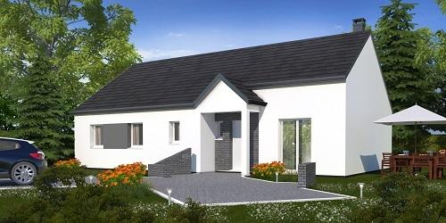 Maisons + Terrains du constructeur HABITAT CONCEPT • 99 m² • DREUX