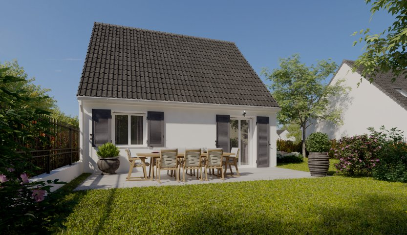 Maisons du constructeur MAISONS PIERRE • 55 m² • SARAN