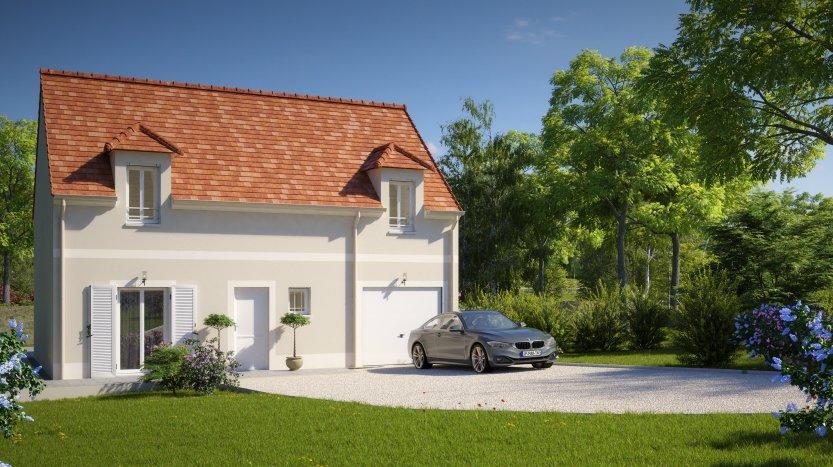 Maisons du constructeur MAISONS PIERRE • 89 m² • INGRE