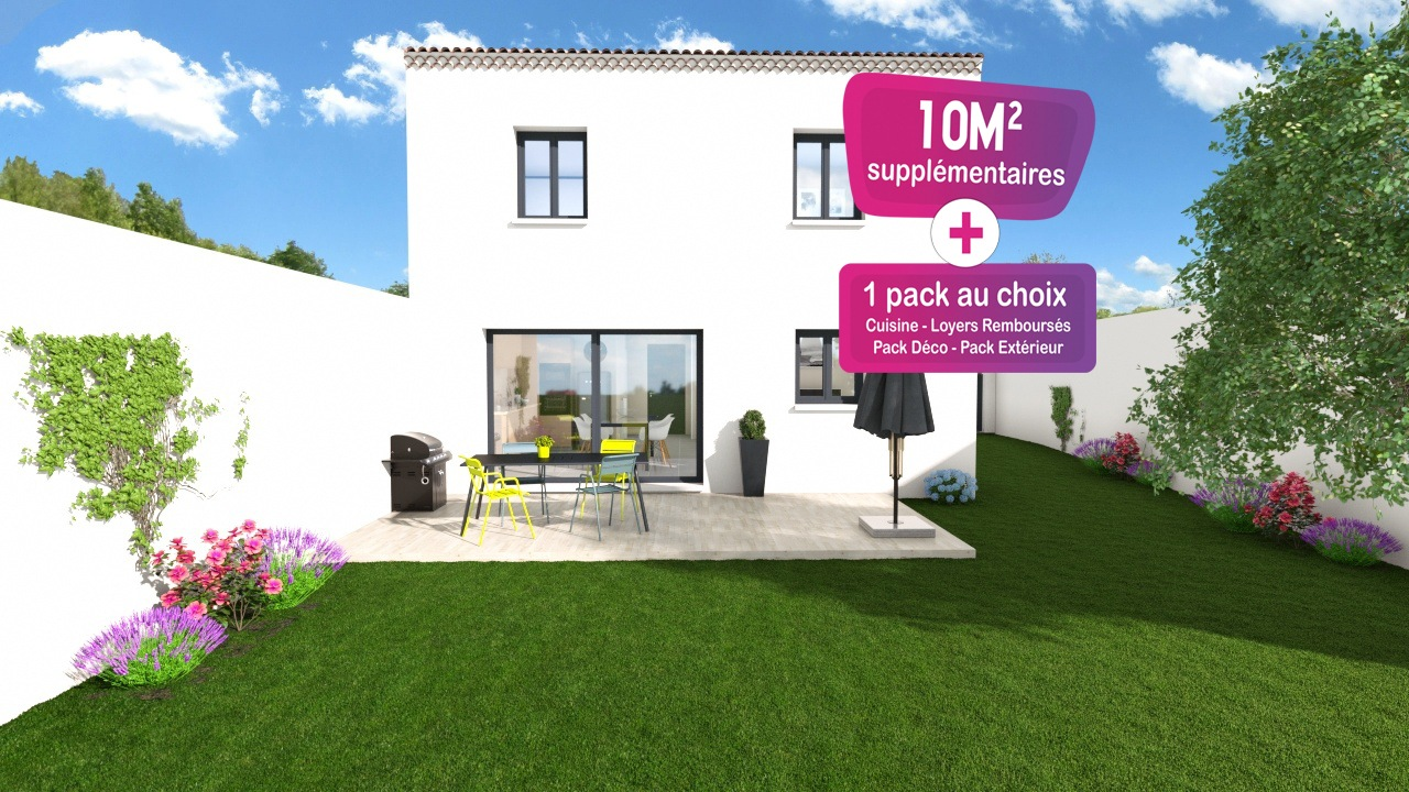 Maisons + Terrains du constructeur MAISONS PUNCH • 83 m² • CARPENTRAS