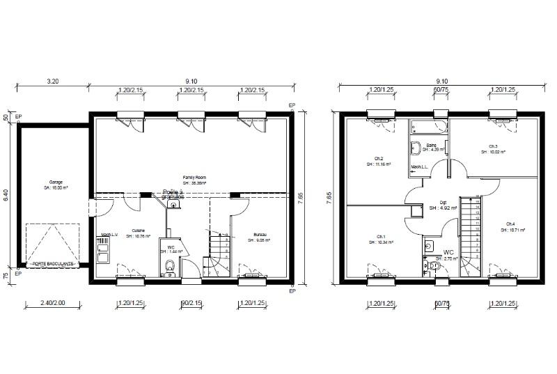 Maisons + Terrains du constructeur MAISONS PUNCH • 110 m² • L'ISLE SUR LA SORGUE