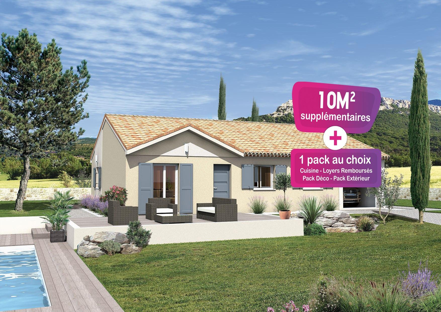 Maisons + Terrains du constructeur MAISONS PUNCH • 80 m² • SORGUES