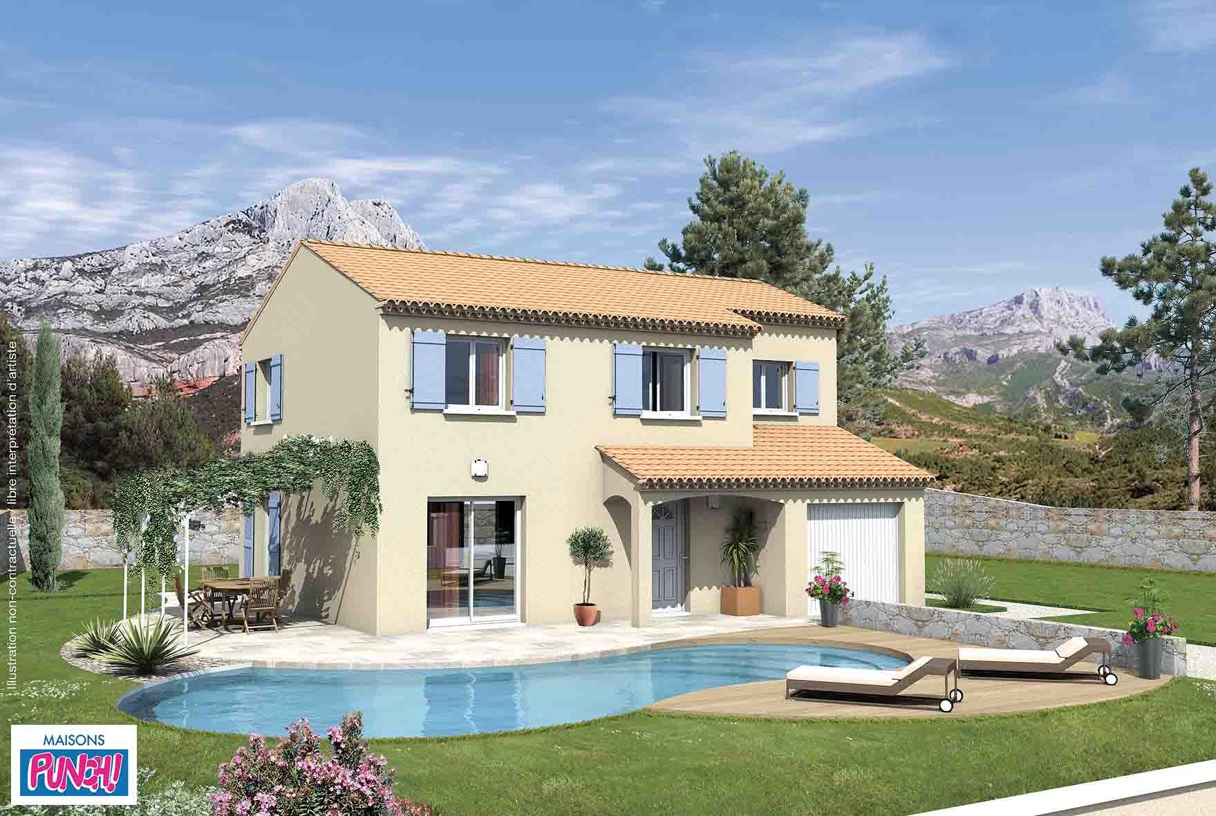 Maisons + Terrains du constructeur MAISONS PUNCH • 93 m² • ENTRAIGUES SUR LA SORGUE