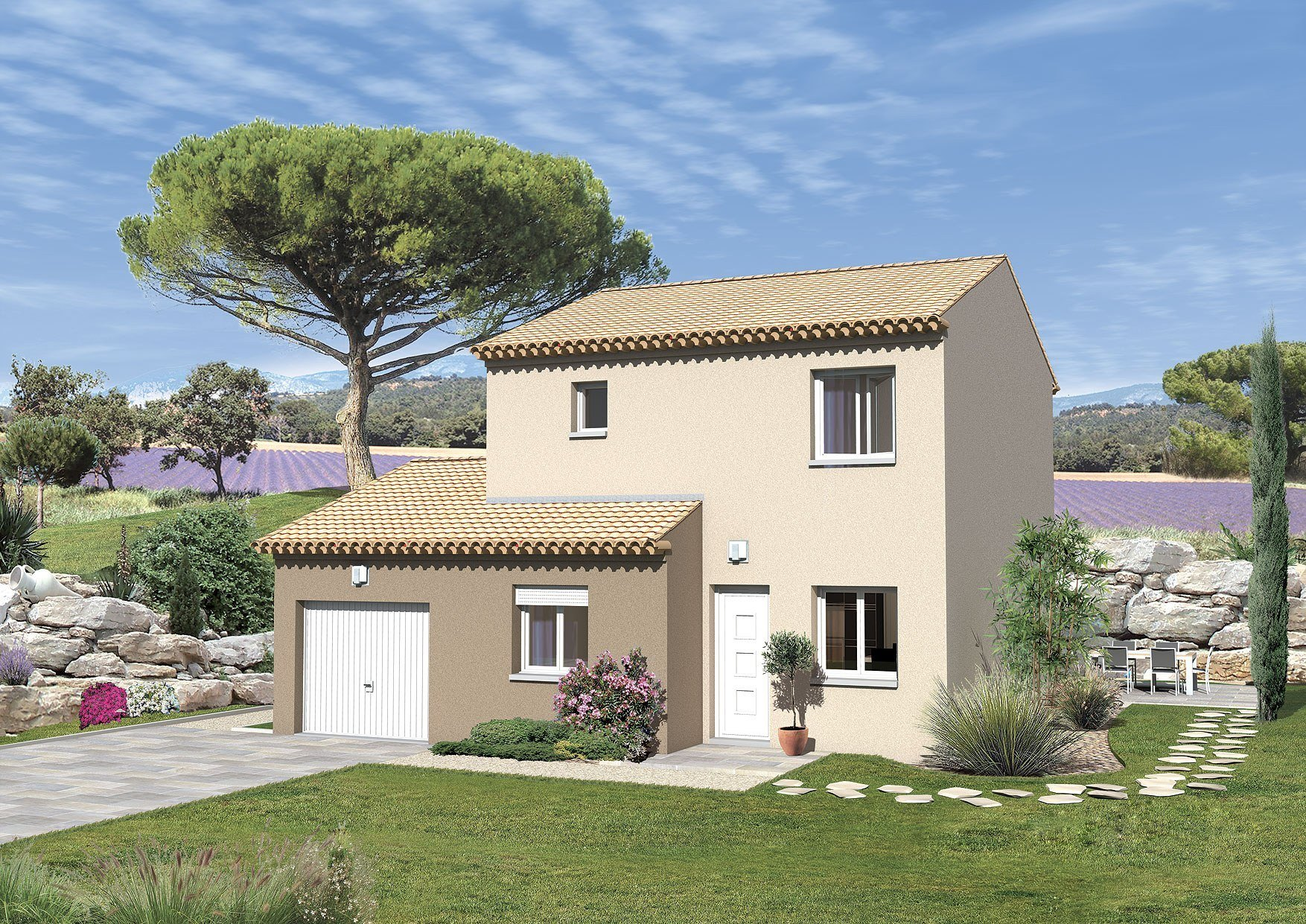 Maisons + Terrains du constructeur MAISONS PUNCH • 91 m² • PERNES LES FONTAINES