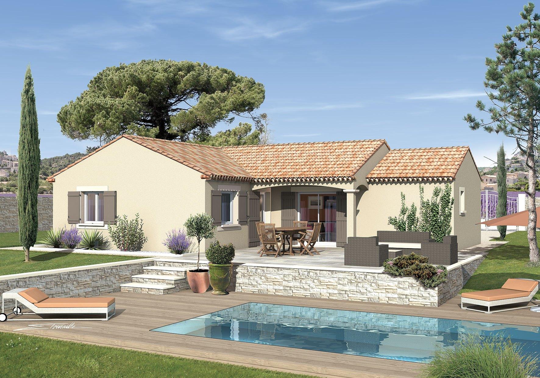 Maisons + Terrains du constructeur MAISONS PUNCH • 83 m² • SORGUES