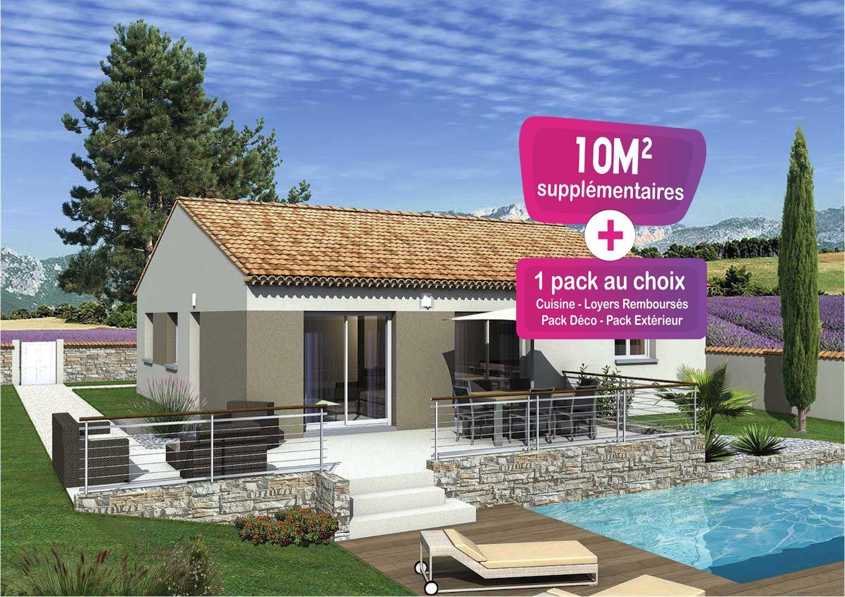 Maisons + Terrains du constructeur MAISONS PUNCH • 84 m² • BAGNOLS SUR CEZE