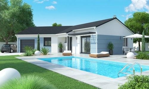 Maisons + Terrains du constructeur MAISONS D EN FRANCE DIJON •  m² • GERLAND