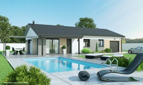 Maisons + Terrains du constructeur MAISONS D EN FRANCE DIJON •  m² • ROUVRES EN PLAINE