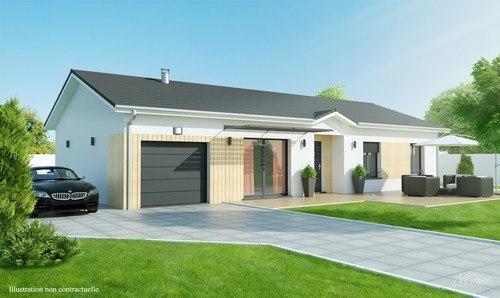 Maisons + Terrains du constructeur MAISONS D EN FRANCE DIJON • 90 m² • IZIER