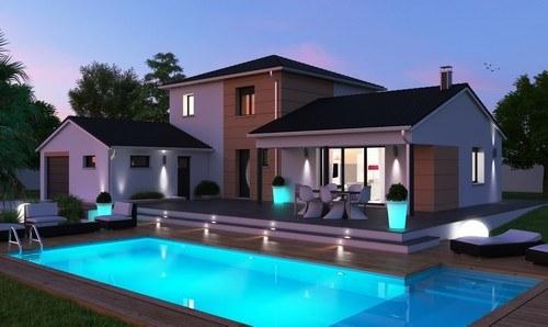 Maisons + Terrains du constructeur MAISONS D EN FRANCE DIJON • 120 m² • REMILLY SUR TILLE
