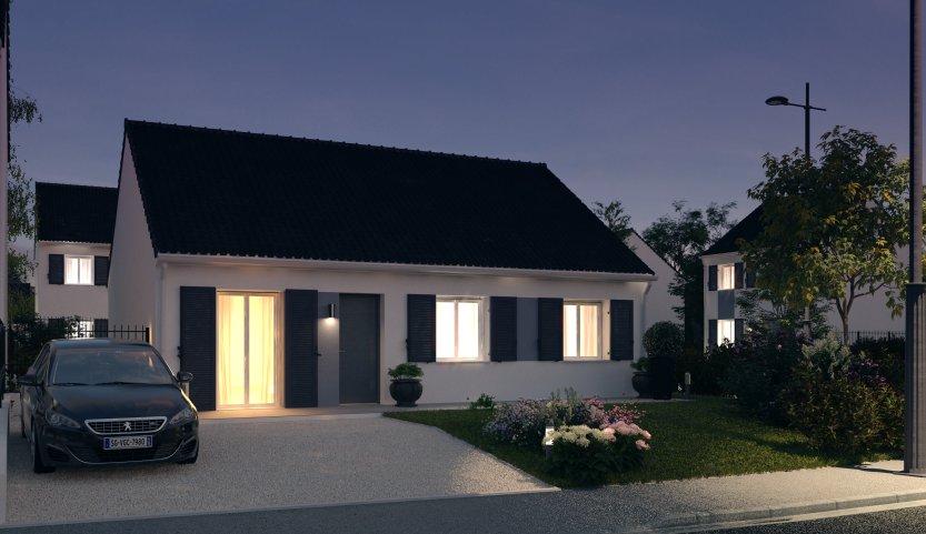 Maisons du constructeur MAISONS PIERRE QUIMPER • 76 m² • BRIEC