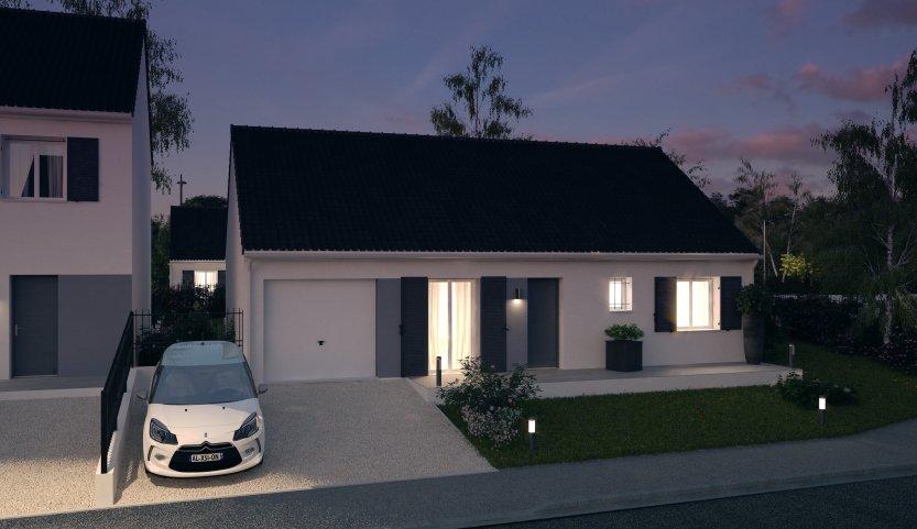 Maisons du constructeur MAISONS PIERRE QUIMPER • 78 m² • PLONEIS