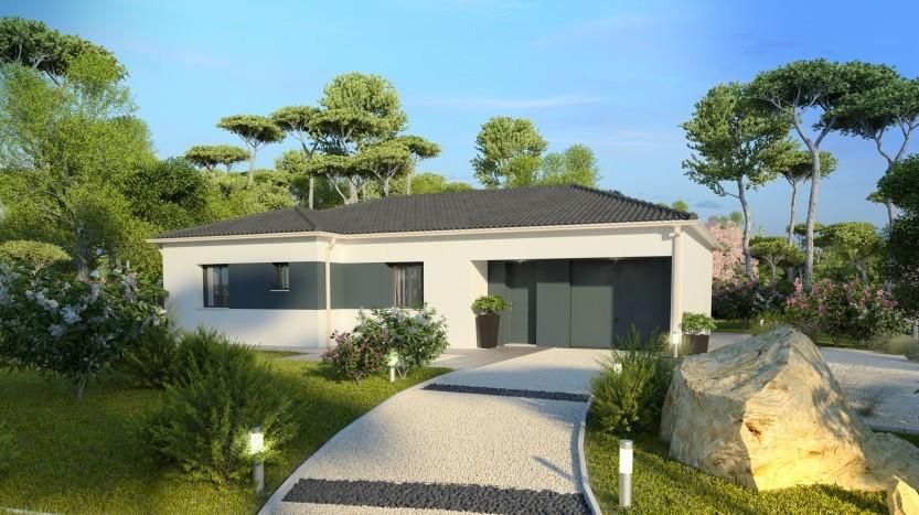 Maisons du constructeur MAISONS PIERRE QUIMPER • 98 m² • BENODET