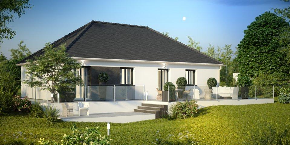 Maisons du constructeur MAISONS PIERRE QUIMPER • 89 m² • CONCARNEAU